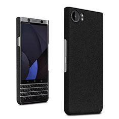 Custodia Plastica Rigida Sabbie Mobili per Blackberry KEYone Nero