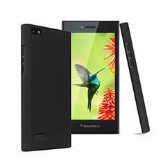 Custodia Plastica Rigida Sabbie Mobili per Blackberry Leap Nero