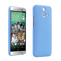 Custodia Plastica Rigida Sabbie Mobili per HTC One E8 Blu