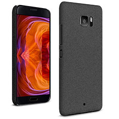 Custodia Plastica Rigida Sabbie Mobili per HTC U Ultra Nero