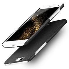 Custodia Plastica Rigida Sabbie Mobili per Huawei Ascend G7 Nero