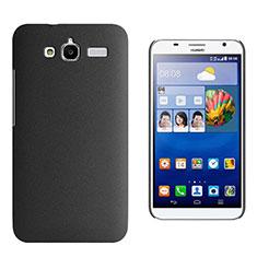 Custodia Plastica Rigida Sabbie Mobili per Huawei Ascend GX1 Nero