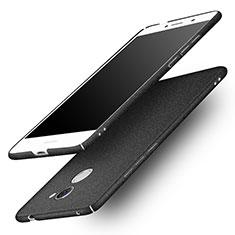 Custodia Plastica Rigida Sabbie Mobili per Huawei Enjoy 7 Plus Nero