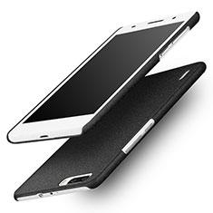 Custodia Plastica Rigida Sabbie Mobili per Huawei Honor 6 Plus Nero