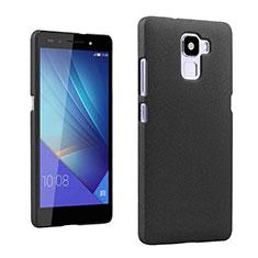 Custodia Plastica Rigida Sabbie Mobili per Huawei Honor 7 Dual SIM Nero