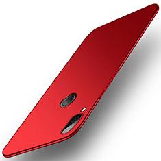 Custodia Plastica Rigida Sabbie Mobili per Huawei Honor Play Rosso
