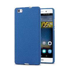 Custodia Plastica Rigida Sabbie Mobili per Huawei P8 Lite Blu
