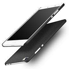 Custodia Plastica Rigida Sabbie Mobili per Huawei P8 Max Nero