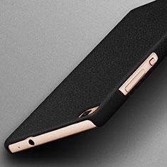 Custodia Plastica Rigida Sabbie Mobili per Huawei P8 Nero