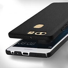 Custodia Plastica Rigida Sabbie Mobili per Huawei P9 Plus Nero