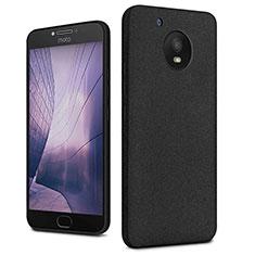 Custodia Plastica Rigida Sabbie Mobili per Motorola Moto E4 Plus Nero