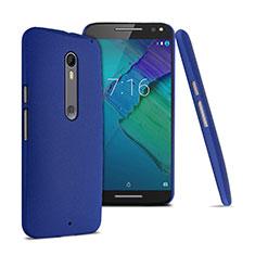 Custodia Plastica Rigida Sabbie Mobili per Motorola Moto X Style Blu