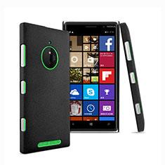 Custodia Plastica Rigida Sabbie Mobili per Nokia Lumia 830 Nero
