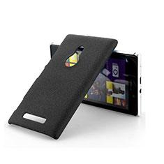 Custodia Plastica Rigida Sabbie Mobili per Nokia Lumia 925 Nero