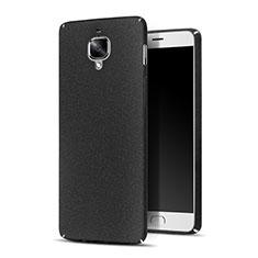 Custodia Plastica Rigida Sabbie Mobili per OnePlus 3 Nero