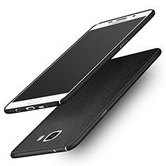 Custodia Plastica Rigida Sabbie Mobili per Samsung Galaxy A9 (2016) A9000 Nero