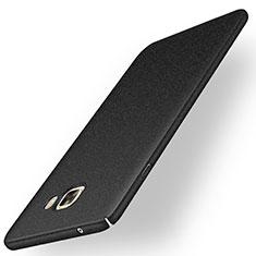 Custodia Plastica Rigida Sabbie Mobili per Samsung Galaxy C9 Pro C9000 Nero