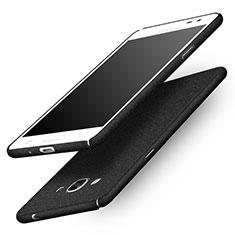 Custodia Plastica Rigida Sabbie Mobili per Samsung Galaxy J3 Pro (2016) J3110 Nero
