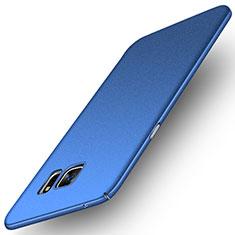 Custodia Plastica Rigida Sabbie Mobili per Samsung Galaxy Note 5 N9200 N920 N920F Blu