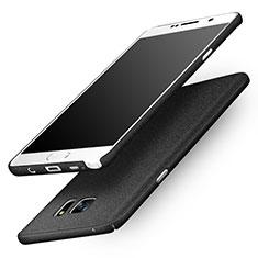 Custodia Plastica Rigida Sabbie Mobili per Samsung Galaxy Note 5 N9200 N920 N920F Nero