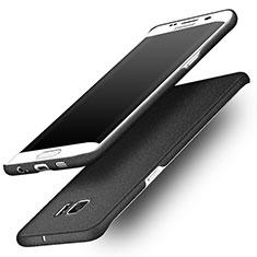 Custodia Plastica Rigida Sabbie Mobili per Samsung Galaxy S6 Edge SM-G925 Nero