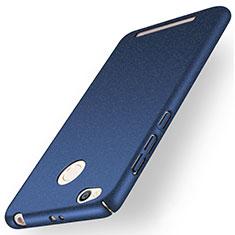 Custodia Plastica Rigida Sabbie Mobili per Xiaomi Redmi 3 High Edition Blu