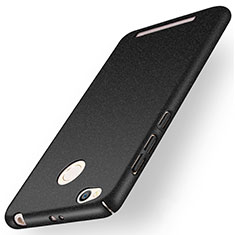 Custodia Plastica Rigida Sabbie Mobili per Xiaomi Redmi 3S Nero