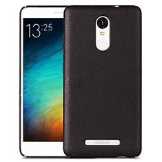 Custodia Plastica Rigida Sabbie Mobili per Xiaomi Redmi Note 3 MediaTek Nero