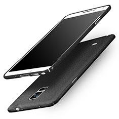 Custodia Plastica Rigida Sabbie Mobili Q01 per Samsung Galaxy Note 4 SM-N910F Nero