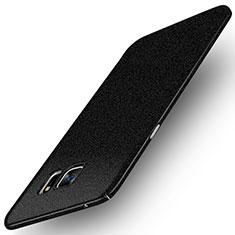 Custodia Plastica Rigida Sabbie Mobili Q01 per Samsung Galaxy Note 5 N9200 N920 N920F Nero