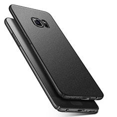 Custodia Plastica Rigida Sabbie Mobili Q01 per Samsung Galaxy S6 Duos SM-G920F G9200 Nero