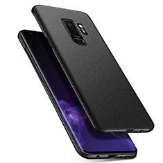 Custodia Plastica Rigida Sabbie Mobili Q01 per Samsung Galaxy S9 Plus Nero