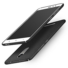 Custodia Plastica Rigida Sabbie Mobili Q01 per Xiaomi Redmi Note 3 MediaTek Nero