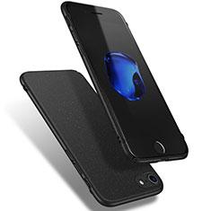 Custodia Plastica Rigida Sabbie Mobili Q02 per Apple iPhone 7 Nero