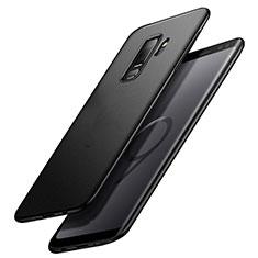 Custodia Plastica Rigida Sabbie Mobili Q02 per Samsung Galaxy S9 Plus Nero