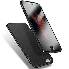 Custodia Plastica Rigida Sabbie Mobili Q03 per Apple iPhone 6 Nero