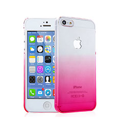 Custodia Plastica Rigida Sfumato per Apple iPhone 5 Rosa
