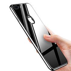 Custodia Plastica Rigida Specchio M01 per Apple iPhone 7 Plus Nero