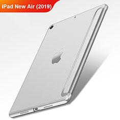 Custodia Portafoglio In Pelle con Stand L01 per Apple iPad Air 3 Argento