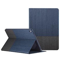 Custodia Portafoglio In Pelle con Stand L02 per Apple iPad Pro 9.7 Blu