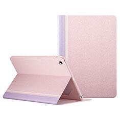 Custodia Portafoglio In Pelle con Stand L03 per Apple iPad Mini 3 Rosa