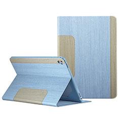 Custodia Portafoglio In Pelle con Stand L03 per Apple iPad Pro 9.7 Cielo Blu