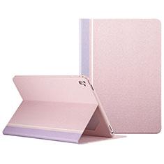 Custodia Portafoglio In Pelle con Stand L03 per Apple iPad Pro 9.7 Rosa