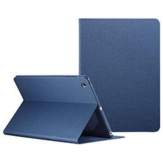 Custodia Portafoglio In Pelle con Stand L04 per Apple iPad Mini 3 Blu