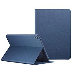Custodia Portafoglio In Pelle con Stand L04 per Apple iPad Pro 9.7 Blu