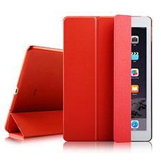 Custodia Portafoglio In Pelle con Stand per Apple iPad Air 2 Rosso