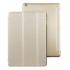 Custodia Portafoglio In Pelle con Stand per Apple iPad Air Oro