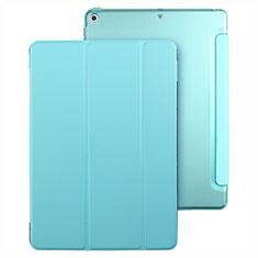 Custodia Portafoglio In Pelle con Stand per Apple New iPad 9.7 (2017) Cielo Blu