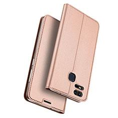 Custodia Portafoglio In Pelle con Stand per Asus Zenfone 3 Zoom Oro Rosa