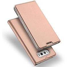 Custodia Portafoglio In Pelle con Stand per LG V20 Oro Rosa
